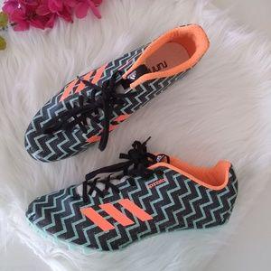 Adidas Sprintstar Running Spikes NWOB Size 8.5